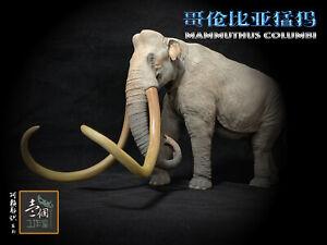 M.See 1//18 Mammut americanum Statue Mastodon GK Elephant Mammuthus Animal Toys