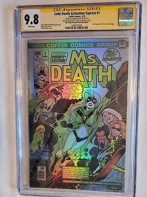 Mike Krome Premium Foil Edition Extinction Express Lady Death