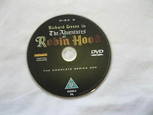 THE-ADVENTURES-OF-ROBIN-HOOD-Series-1-Disc-3-starring-Richard-Greene-DVD