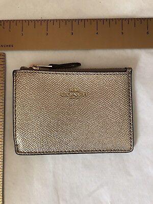 NWT New Coach Mini ID Skinny Key Chain Case 12186 23623 13322 $65