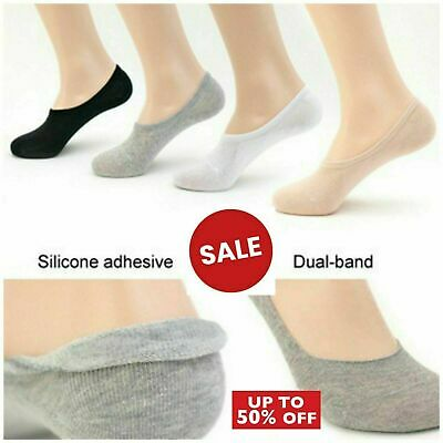 Women/'s Ladies INVISIBLE Socks Girls FOOTSIES Trainer Show Liner BALLERINA Socks