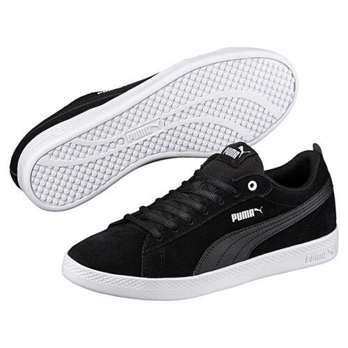 Puma Smash Wns v2 SD Damen Sneaker Suede Schuhe Wildleder 365313 01