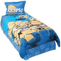 Despicable Me Minions Mishap Reversible Twin Comforter 3 Pc Set