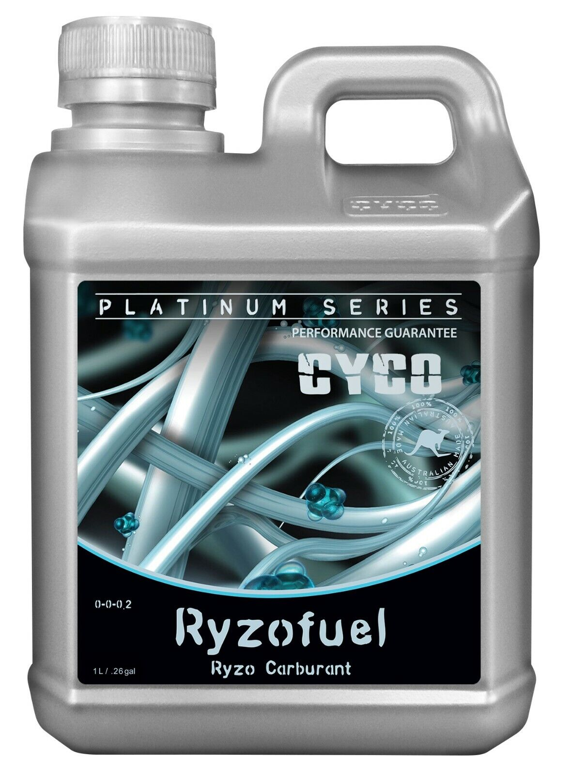 Cyco ryzofuel 0 - 0 - 0.2 - concentrada de raíz estimulante, de alta calidad