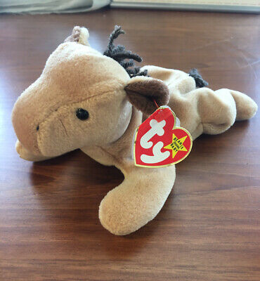 Vintage 1995 ty Derby the Horse Beanie Baby