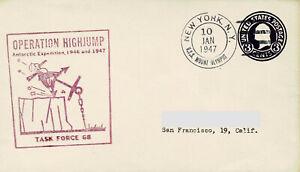 Polarpost - OPERATION HIGHJUMP - 1947 (I)
