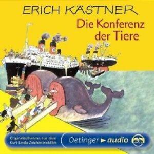 ERICH-KASTNER-DIE-KONFERENZ-DER-TIERE-CD-NEW