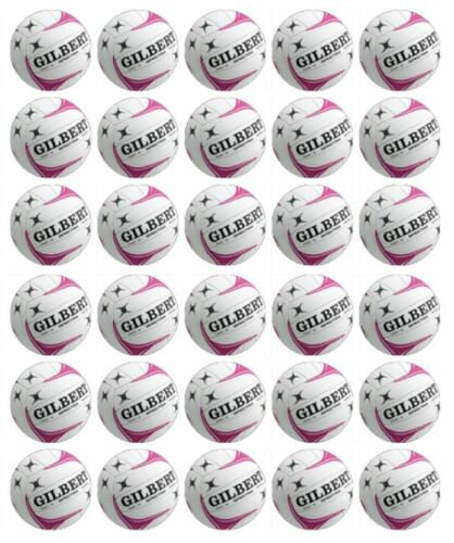 30 Netball Cupcake Edible Wafer Paper Birthday Party Cake Decoration Toppers