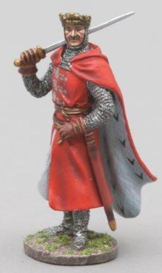 Thomas Gunn Mittelalter Ritter med001 King Richard 1. of England MIB