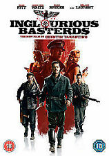 Inglorious Bastards - Quentin Tarantino, Brad Pitt - GENUINE UK (Region 2) DVD