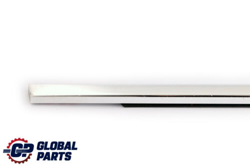BMW 5 Series E60 Rear Right Door Window Outer Channel Cover Chrome 7057494