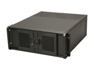 Details about iStarUSA D-407PL Black Steel 4U Rackmount Compact Stylish  Server Case