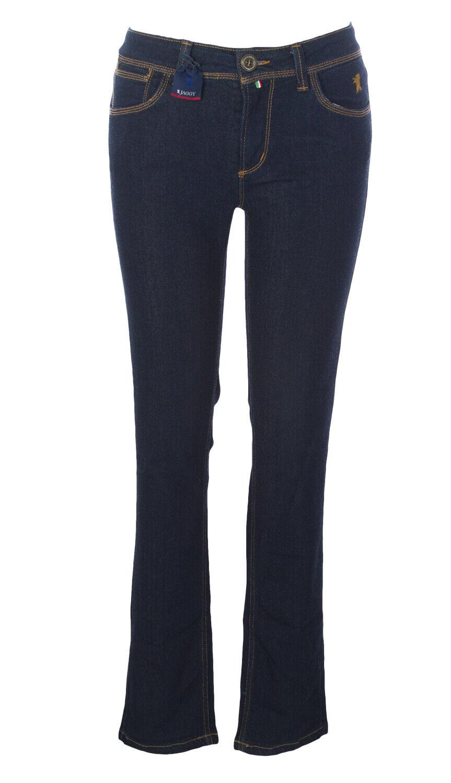Jaggy Donna Anne Indaco Jeans Vestibilità Slim Slim Slim f8c19c