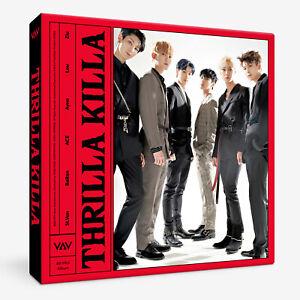 VAV-THRILLA-KILLA-4th-Mini-Album-CD-Photobook-Photo-Postcard-New-Sealed-KPOP