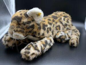 Steiff-6320-40-Leopard-Jungleopard-55-Cm-Etat-Parfait
