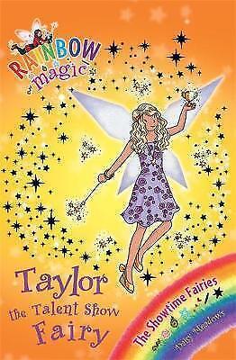 Taylor the Talent Show Fairy (Rainbow Magic) by Daisy Meadows, Good Book (Paperb