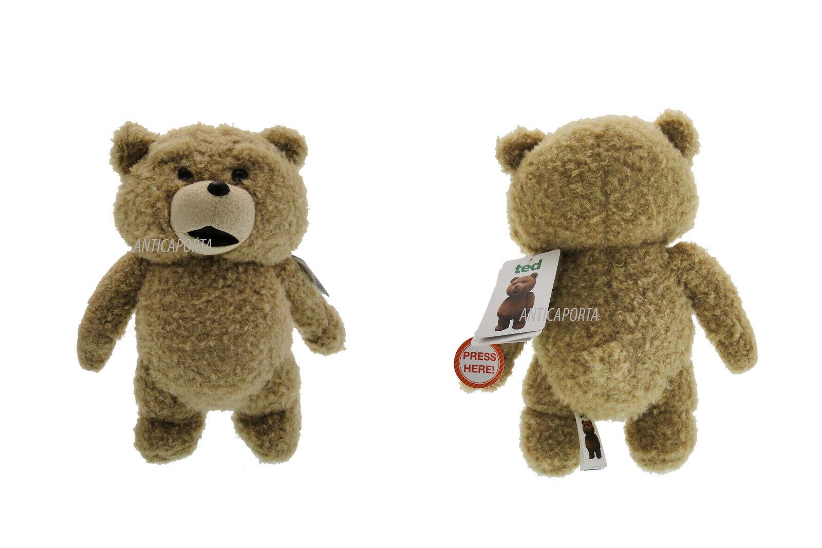 Felpa Texto original en Ted El Película Parlante 30 cm Muy suave Teddy Bear