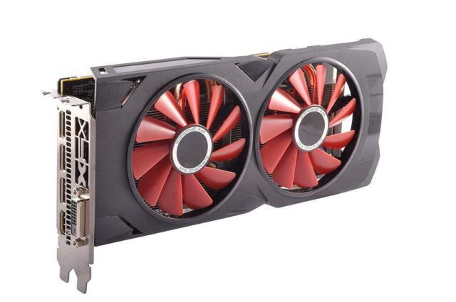 XFX AMD Radeon RX 570 RS XXX Edition (RX-570P4DFD6) 4GB GDDR5 PCI Express  3 0 x16 Video Card