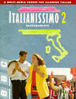 ITALIANISSIMO 2 INTERMEDIATE COURSE BOOK by Denise de Rome (Paperback, 1994)