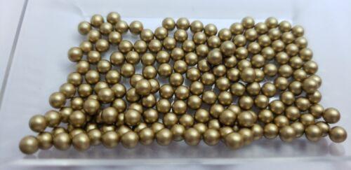 USA seller 4mm Gold Matte PEARL10pcs-lot f//Origami Owl Floating Charm Lockets