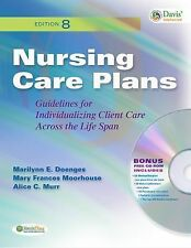 NEW Nursing Care Plans Guidelines 8th Edition Sealed CD Doenges, Moorhouse, Murr