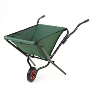 Wheelbarrow folding foldable lightweight ideal garden for Lightweight garden tools