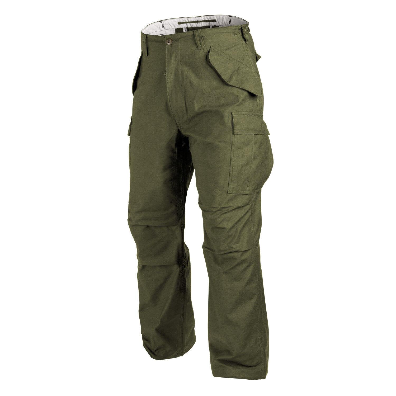 Helikon TEX US m65 Pantaloni Army Pantaloni campo pants trousers OD verde verde Oliva Large Regular