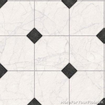 3 8mm Thick Vinyl Flooring White Marble, White Linoleum Flooring