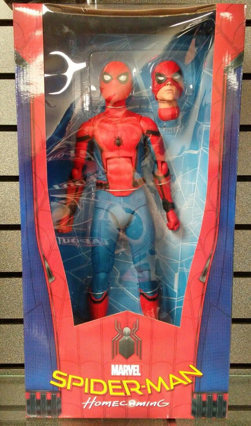 Neca   Spiderman   Marvel   Home coming 1 4 Scale Figure   neuf   Livraison rapide