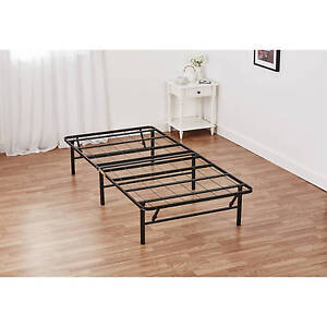Image Is Loading Mainstays Innovative Metal Platform Base Bed Frame Twin
