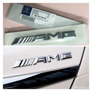 Mercedes-Benz-AMG-Arranque-Insignia-Emblema-Trasero-C-E-Clase-S-W204-W212-C63-SLK