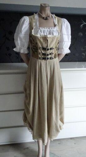 German Austrian Linen Jumper Trachten Dress Blouse
