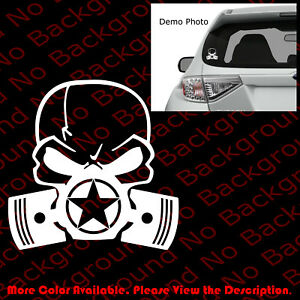 PUNISHER SKULL ARMY STAR ANCHOR Car Boat Window Vinyl Die Cut Decal USMC SK004