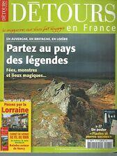 DETOURS EN FRANCE 78. AUVERGNE, BRETAGNE, LOZERE...ES8