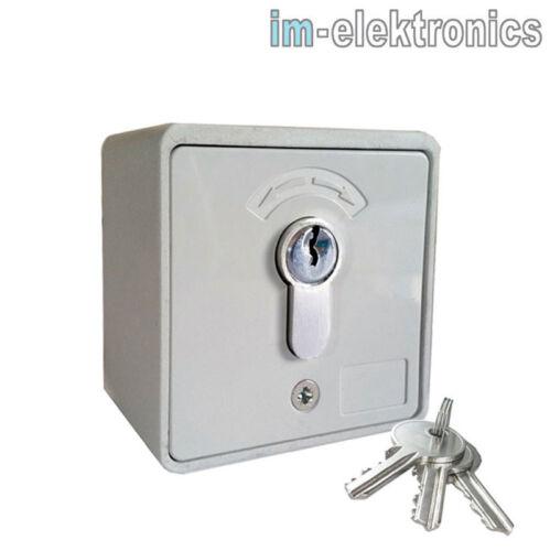 Schlüsselschalter Schlüsseltaster AP Garagentor Antrieb Tor Antrieb Rolltor Tore