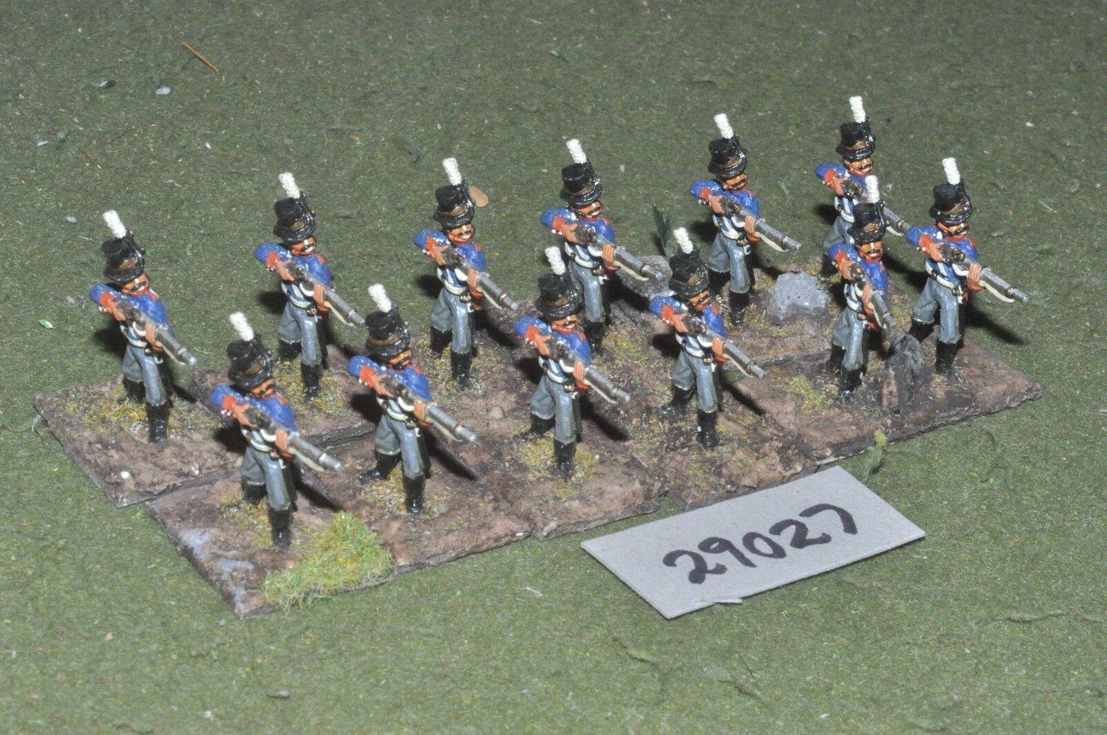 25mm napoleonic   swedish - line 12 figures - inf (29027)