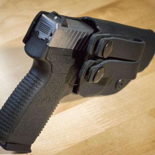 Kydex Concealment IWB Gun Holsters BLACK For SCCY CPX 1 2 /& 3 Handguns