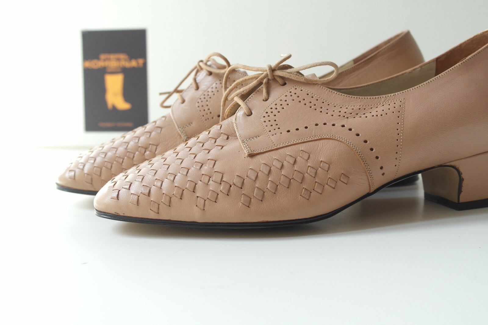 TRUE VINTAGE Damen Schuhe DIANA MED Pumps Halbschuhe 60s Halbschuhe Pumps NOS Budapester EUR 38,5 0873b5