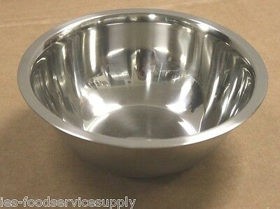 3 Quart Stainless Steel Mixing Bowl Medium Weight Restaurant Grade Quality