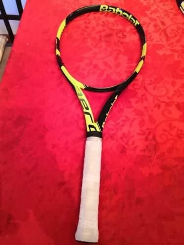 Babolat Pure Aero unstrung 100 head 10.6oz  4 1//8  grip Tennis Racquet