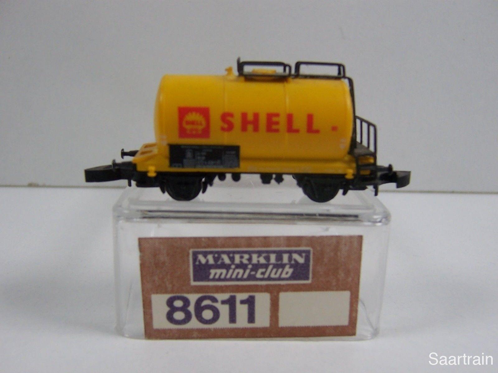 8611 Caldaia Carrello Shell tracce bianche ferroviario dati antico emblema Top rarità