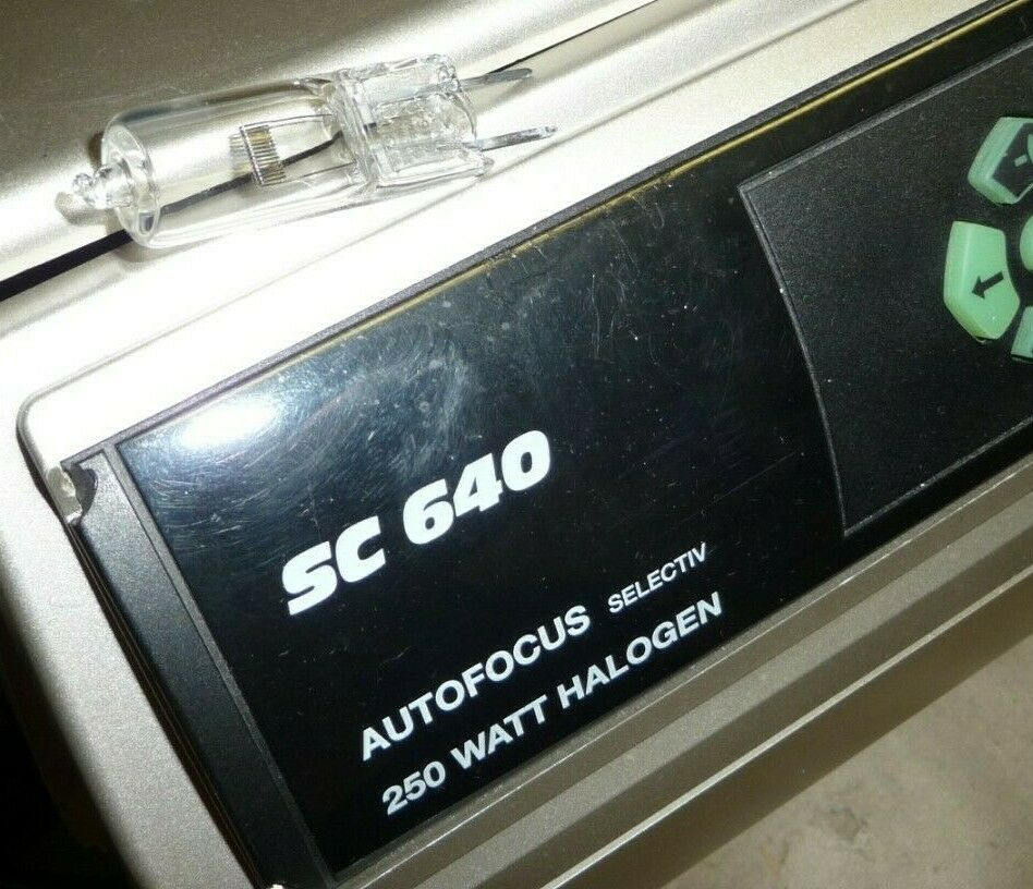 Projector bulb lamp BRAUN PAXIMAT MULTIMAG SC640 SC540 24v 250w new stock