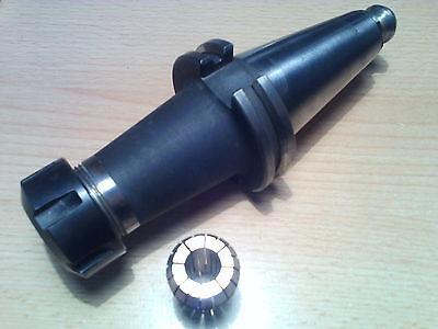 SK40 Spannzangenfutter ER25 DIN 69871 TYP AD-100 + Zange 10/9 mm DIN 6499B  TOP