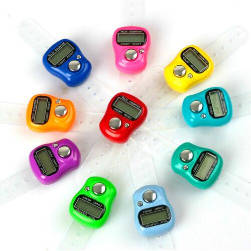 1*LCD Handzähler Digital Stückzähler Schrittzähler Counter Klicker Zikir New