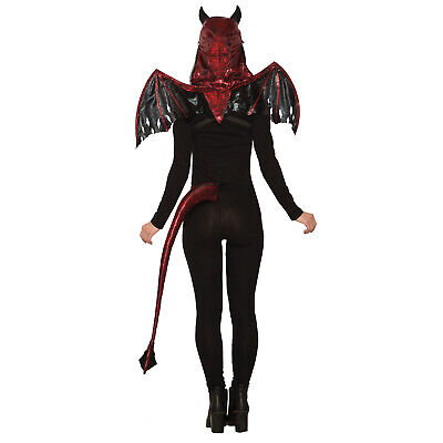 Halloween Green Dragon or Red Devil Tails Fancy Dress Accessory
