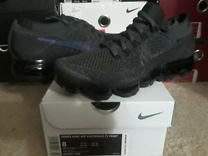 Details about Womens Nike Air VaporMax Flyknit Midnight Fog Multi Color Black 95 97 849557 009