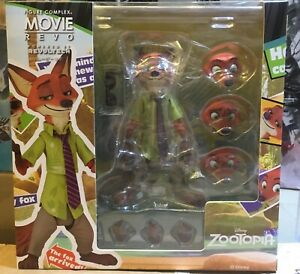 KAIYODO REVOLTECH Zootopia Movie Revo Series Fox Nick Figure Model In Stock