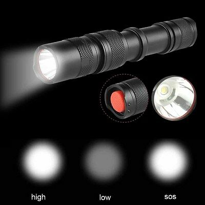 3500LM XML-T6 LED Flashlight 3 modes USB Rechargeable Torch Lamp Super Bright