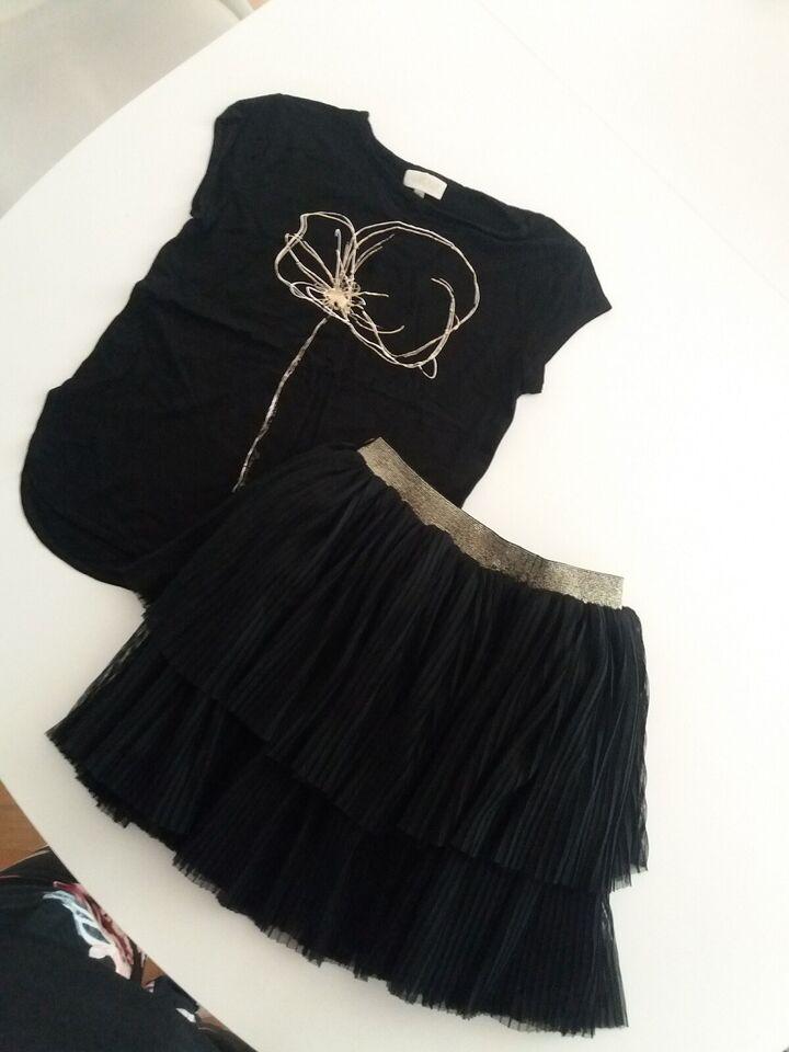 Blandet tøj, Nederdel og bluse sæt., Pomp De Lux