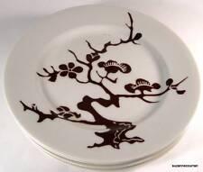 1976 Fitz & Floyd COGNAC PRUNIER de CHINE Dessert Plate Set of Four